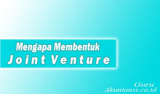 Mengapa Membentuk Joint Venture