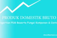Pengertian PDB