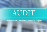 Pengertian audit