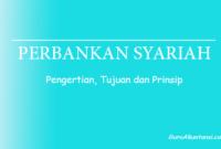 Pengertian perbankan syariah