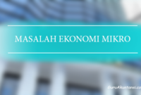 masalah ekonomi mikro