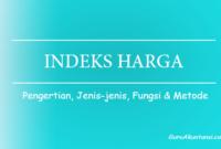 pengertian Indeks Harga