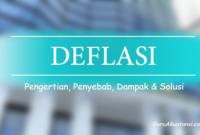 pengertian deflasi