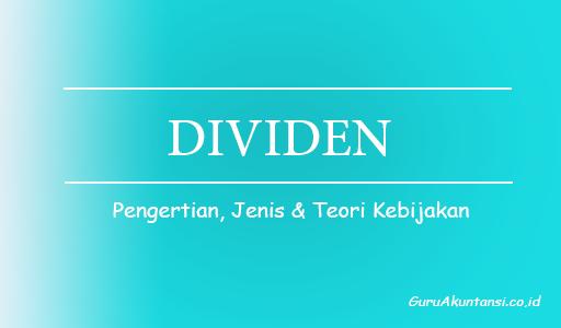 pengertian dividen