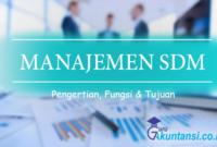 manajemen SDM