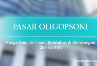 pengertian pasar oligopsoni