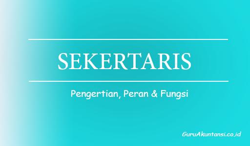 peran dan fungsi sekretaris