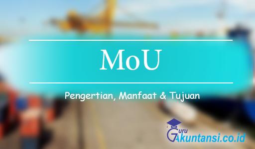 pengertian MoU