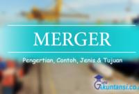 pengertian merger