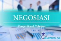 pengertian dan tahapan negosiasi