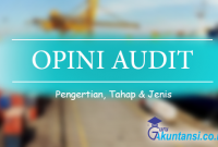 pengertian opini audit
