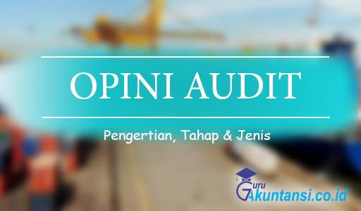 pengertian opini audit