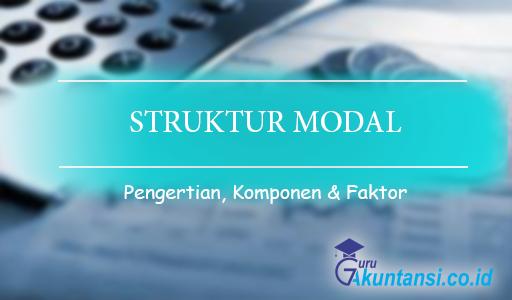 pengertian struktur modal