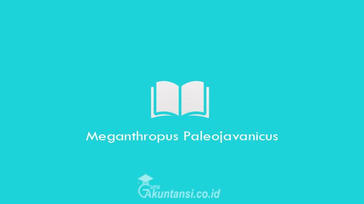 Meganthropus-Paleojavanicus