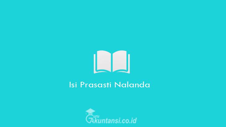 Isi-Prasasti-Nalanda