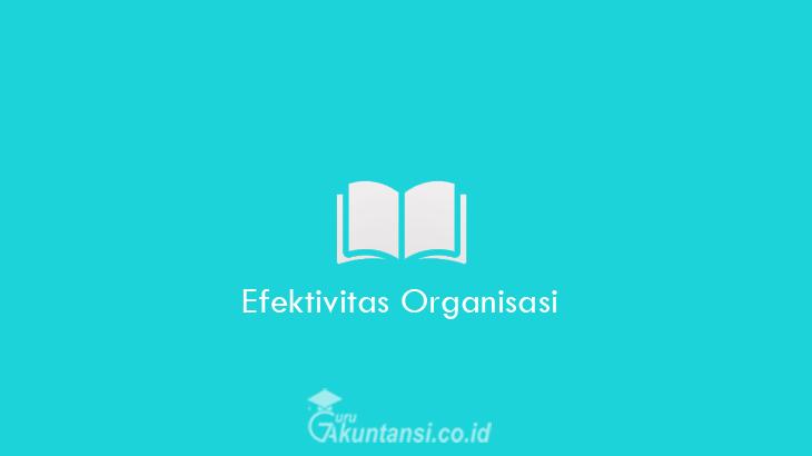 Efektivitas-Organisasi