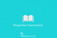 Pengertian-Operasional