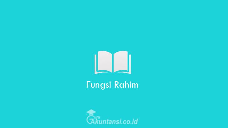 Fungsi-Rahim