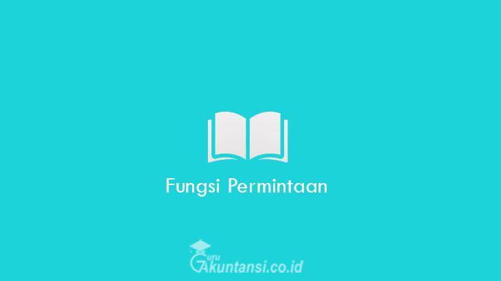 Fungsi-Permintaan