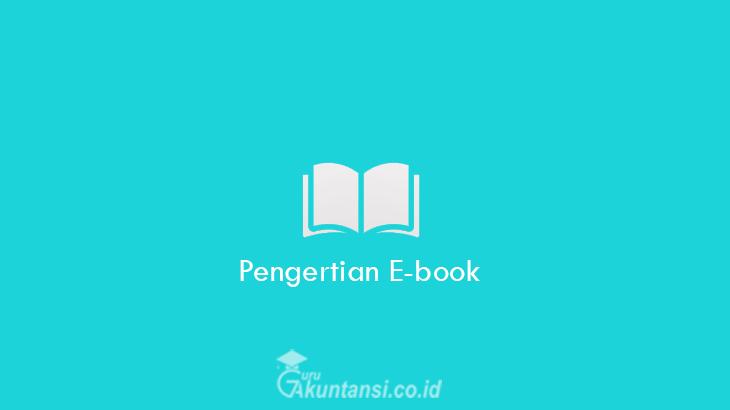 Pengertian-E-book