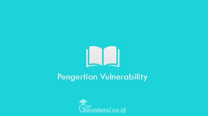 Pengertian-Vulnerability