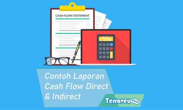 Contoh Laporan Cash Flow dengan Metode Direct Inderect