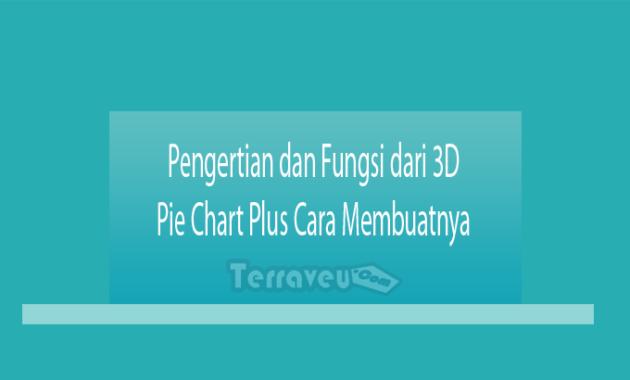 Pengertian dan Fungsi dari 3D Pie Chart Plus Cara Membuatnya
