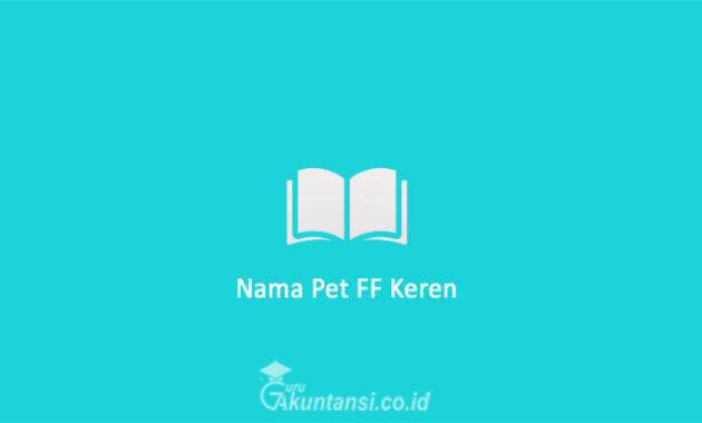 Nama-Pet-FF-Keren