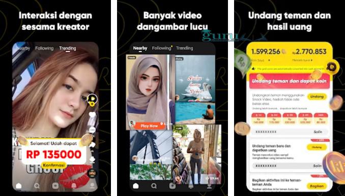 Snack-Video-Aplikasi-Penghasil-Saldo-Dana
